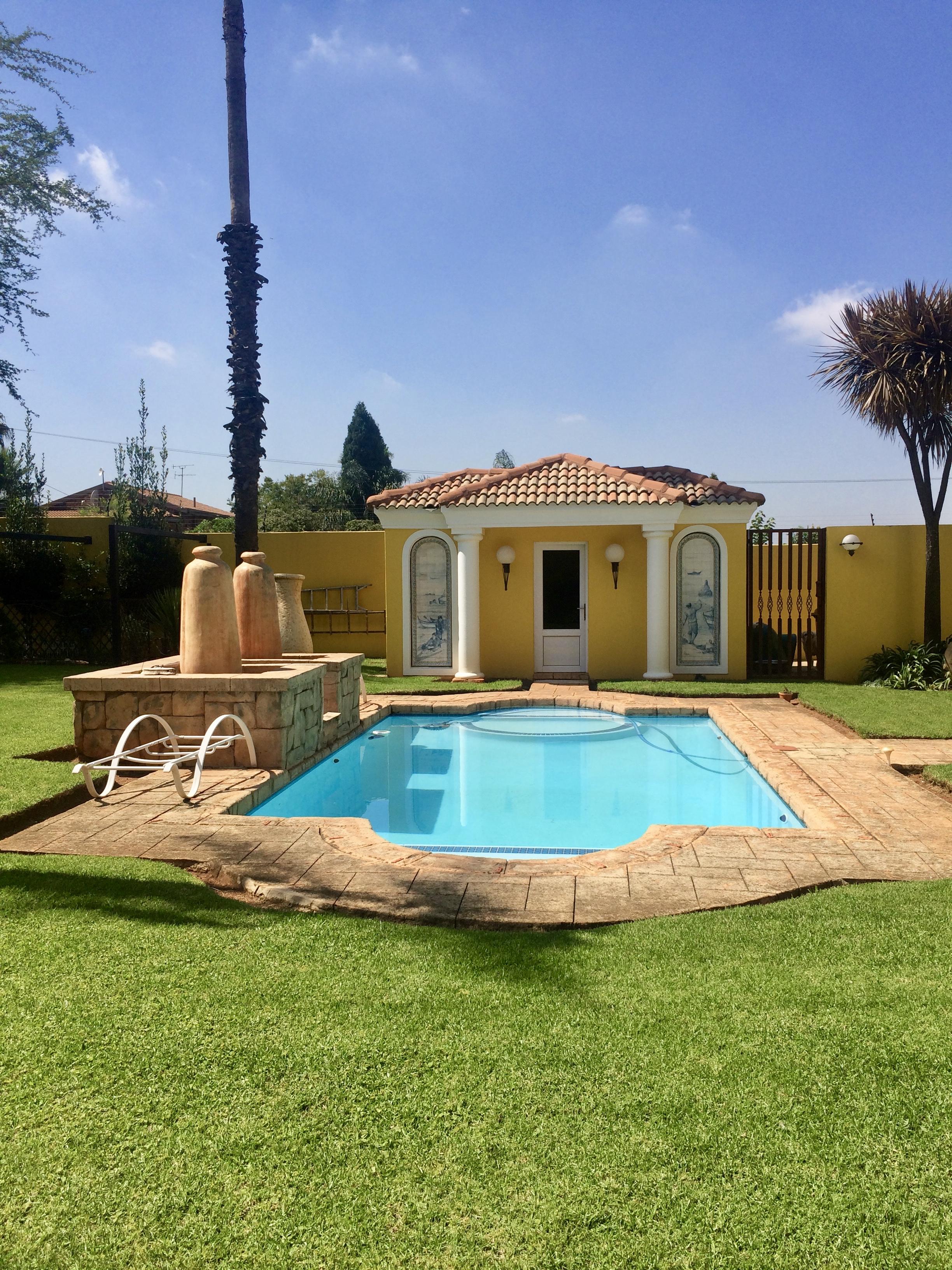 Manicured pool